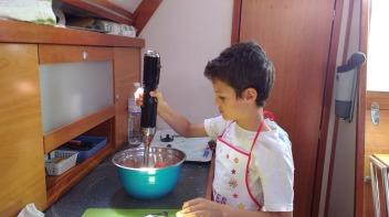 Soledad crew cooking