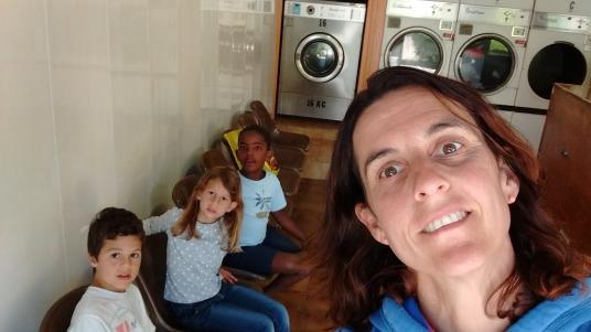 Soledad crew at the laundry
