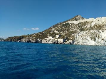 Pumice cliffs of Lipari