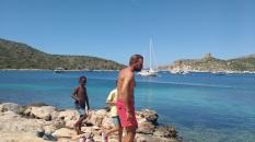 Cabrera beach