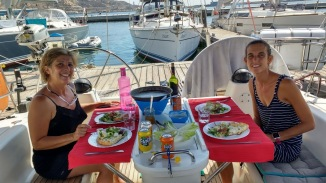 Lunch at the boat