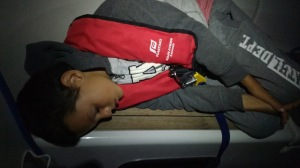 Getting sleep during overnight navigation
