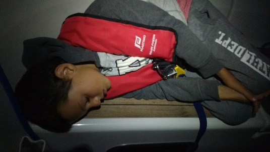 Getting sleep during overnight navigation
