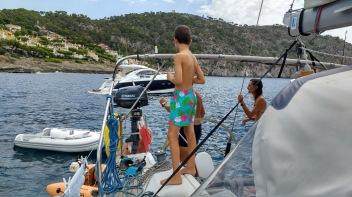 Motor boat rescued