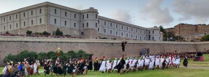 Secret Cartagena, Cartagineses and Romanos battle