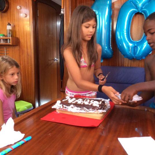 Marina wanderlust birthday