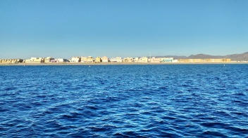 San Miguel Cabo de Gata from the Sea