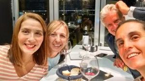Dinner with Sevilla friends