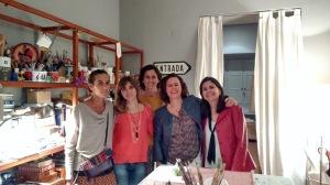 Girly dinner at Sevilla