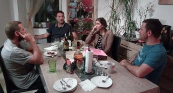 Pierre family dinner