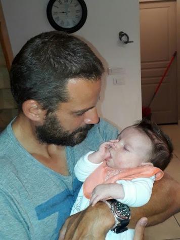 Pierre with little Paul