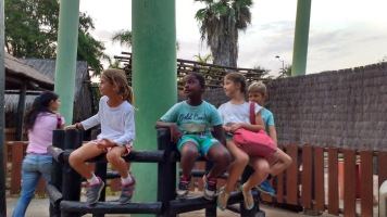 kids at Isla Magica