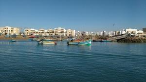 Rabat fishing boats