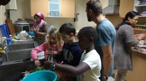 Soledad crew at Fez cooking class