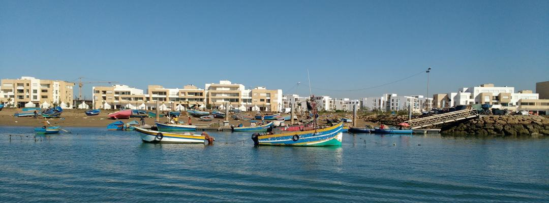 Rabat fishing boats