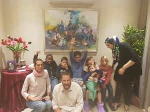 Soledad crew party at Casablanca second round