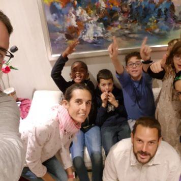 Soledad crew party at Casablanca