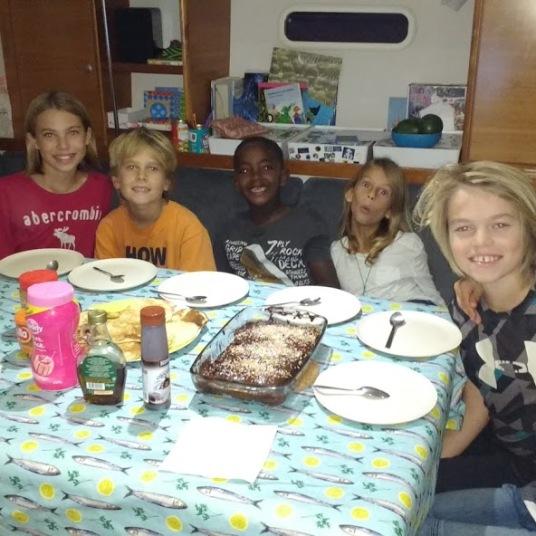 kids dinner party