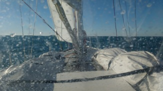 perfect conditions leaving Puerto Sherry