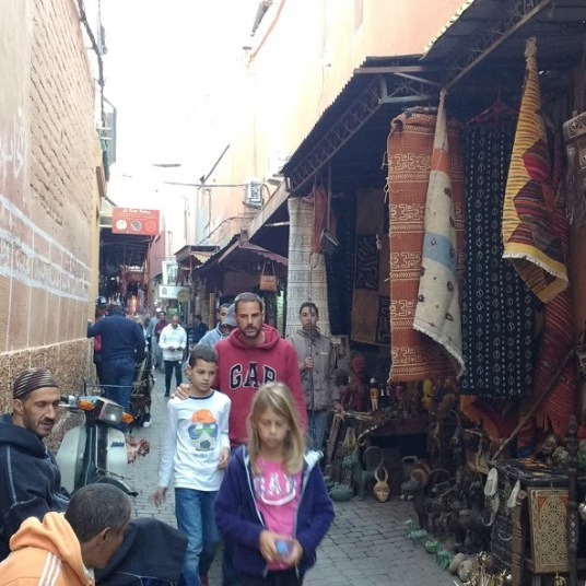 Marrakech medina walk