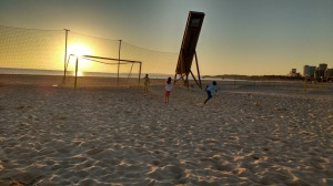 Sunset at Portimao
