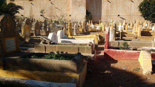 Rabat colorfull cementery