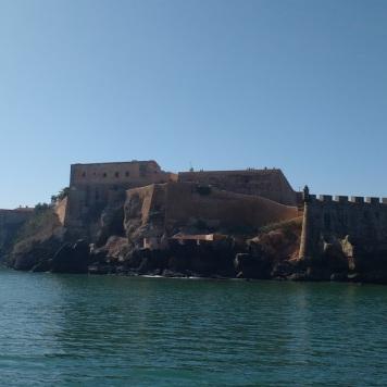 Rabat Medina from the sea