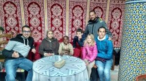 Soledad crew enjoying Moroccans