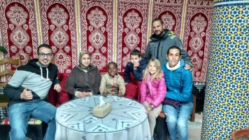 Soledad crew enjoying Moroccans