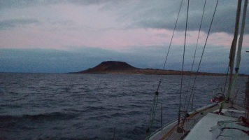Sunset at La Graciosa