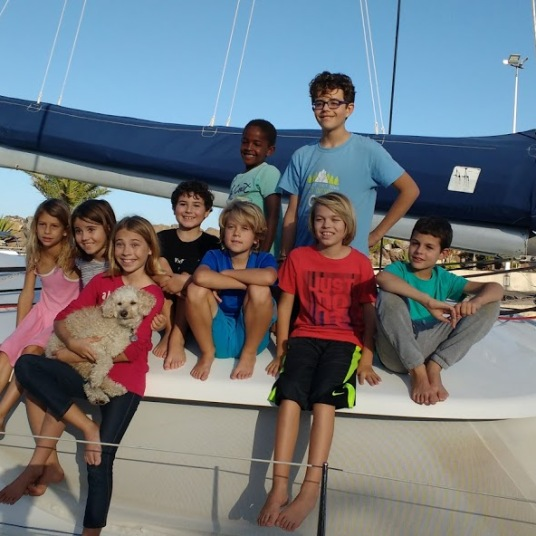 Liveaboard kids dream team