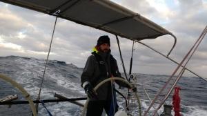 Sailing from Lanzarote to Las Palmas
