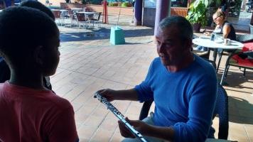 SV Soledad crew learning music