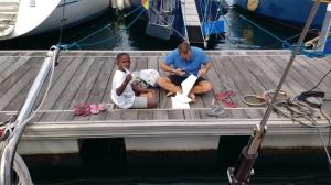 boat building lesson