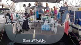 Kids party at SV Soledad