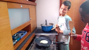 Boat pancakes