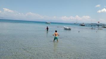 Petriti transparent beach