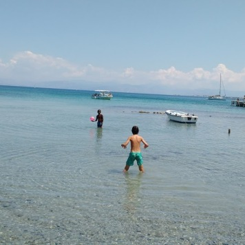 Petriti transparent beach