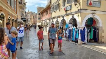Corfu town tour