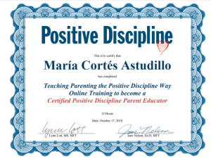 Positive discipline certification