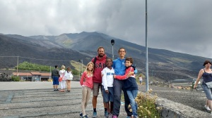 Family picture at Etna