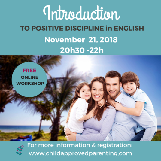 Child Approved Parenting english workshop