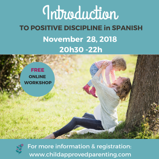 Child Approved Parenting spanish workshop