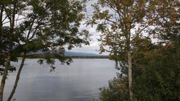 Fall at Leman lake