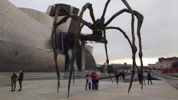 Family pic in Bilbao