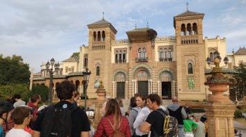 Sevilla trip Parque Maria Luisa